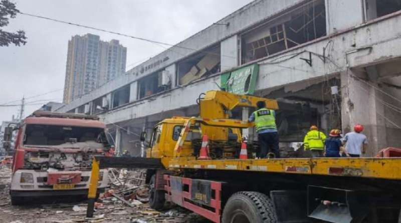Major accident in China, 12 killed, more than 100 injured