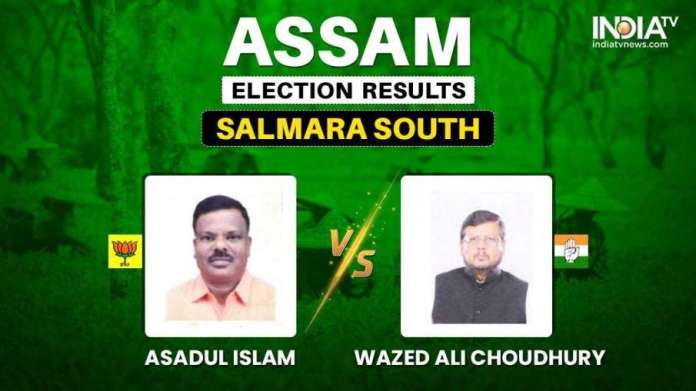 Salmara South Election Result Asadul Islam Wazed Ali Choudhury BJP AIMIM Assam Election Result: सलमा- India TV Hindi