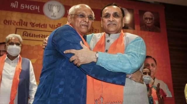 bhupendra patel and vijay rupani- India TV Hindi