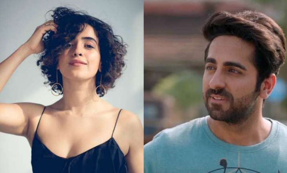 Image result for First schedule for Ayushmann Khurrana and Sanya Malhotra starrer Badhaai Ho wrapped up
