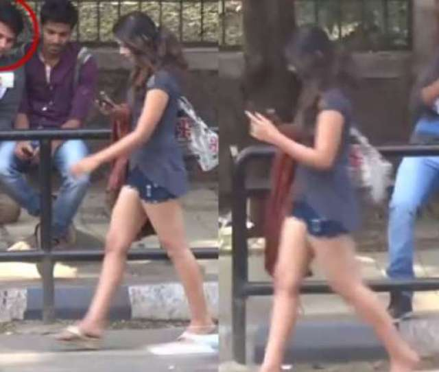 Watch Guy Caught Making Mms Of Girl In Hot Pants And This
