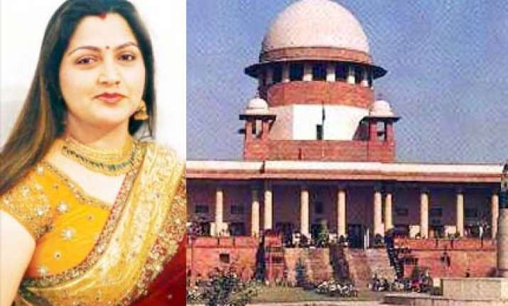 Image result for khusboo and supreme court