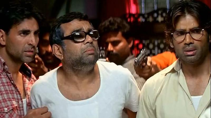 Akshay Kumar, Paresh Rawal and Suniel Shetty to reunite for Hera ...