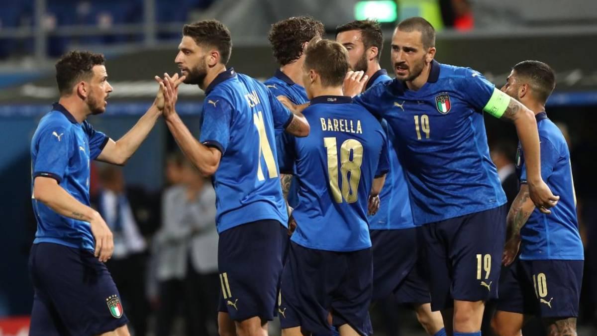 Italy predicted lineup vs Belgium