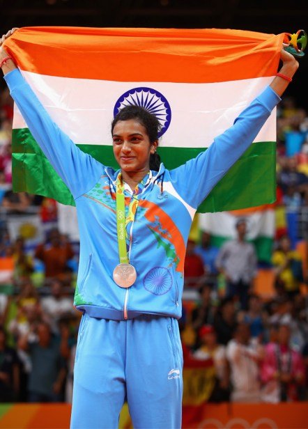 Image result for collage of pv sindhu