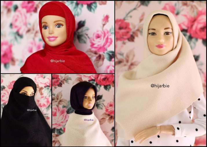 When mattel proposed a barbie based on her, she wept. Meet Hijarbie The Hijab Wearing Barbie Who S Become An Instagram Star People News India Tv