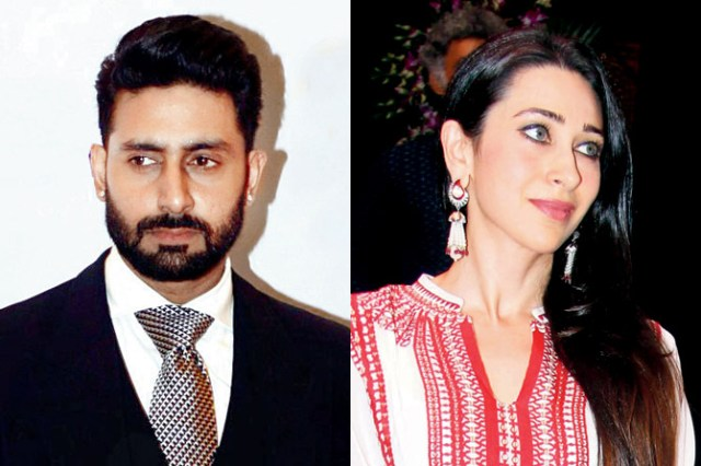 When exes Karisma Kapoor and Abhishek Bachchan came under one roof at Mohit Marwah's wedding in UAE   Celebrities News – India TV