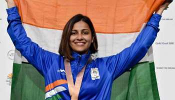 Image result for Heena Sidhu clinched gold medal at the International Shooting Competition