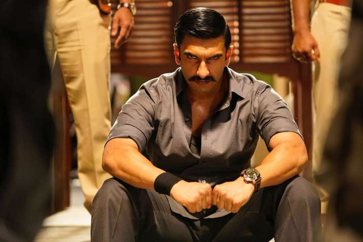 Simmba New Poster Out Ranveer Singh As An Angry Young Man