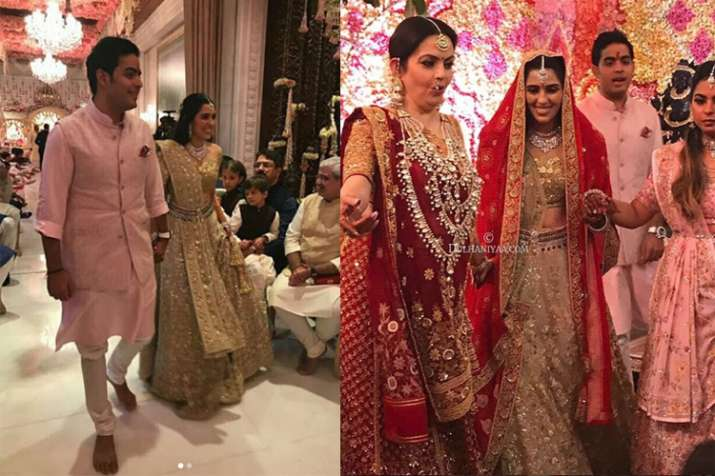 Akash Ambani-Shloka Mehta engagement LIVE Updates: First video of