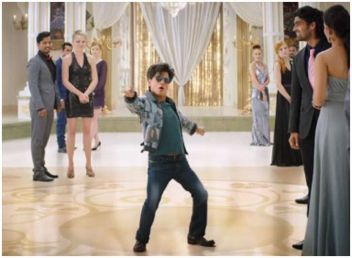 Zero: Shah Rukh Khan shoots for film's consummate in US