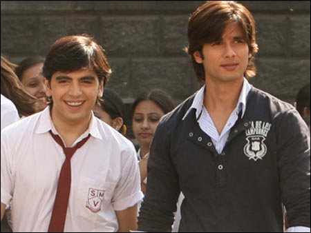 India Tv - Sunny Singh aka Arrhan Singh with Shahid Kapoor