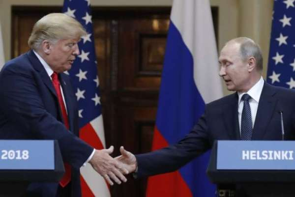 Helsinki summit: Trump says he sees no reason why Russia ...