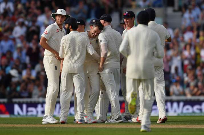 cricket score india vs england 5th test