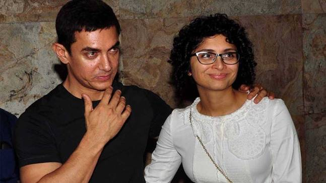 India Tv - Aamir Khan and wife Kiran Rao  After Aamir Khan's decision to exit Gulshan Kumar biopic, Subhash Kapoor says 'will prove my innocence in court' aamir647 070316063113 1539223490