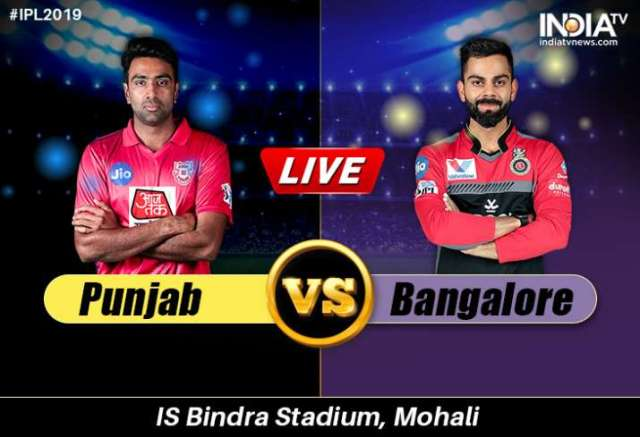 Image result for kxip vs rcb