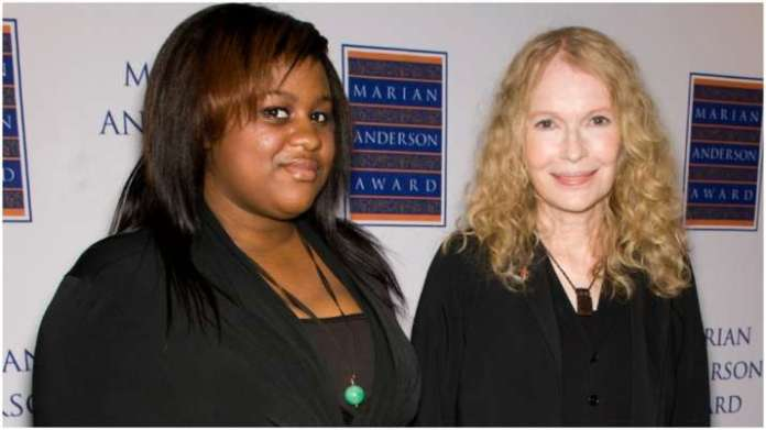 Mia Farrow says her daughter Quincy has COVID-19