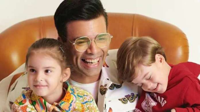 Karan Johar's twins Yash and Roohi look too cute as they sing, play guitar in latest video