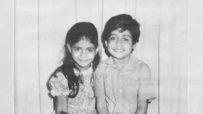 Shweta Bachchan shares photo with 'partner in crime' Abhishek Bachchan and it is the cutest