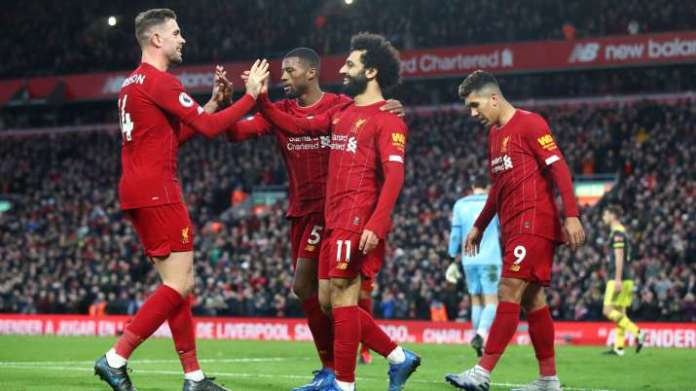 Liverpool crowned Premier League champions, their first league title in 30 years
