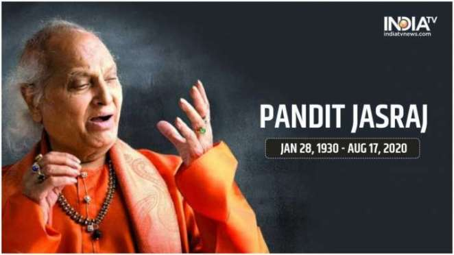 Breaking News: Legendary classical vocalist Pandit Jasraj dies at 90