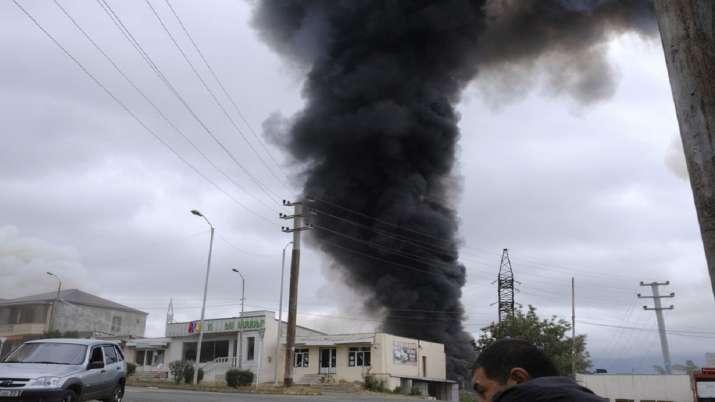 India Tv - Armenia, Azerbaijan clashes