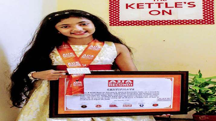 10-year-old Kerala girl makes into record books by cooking 33 dishes in an hour