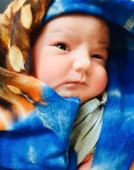India Tv - Sapna Choudhary's baby boy first pictures