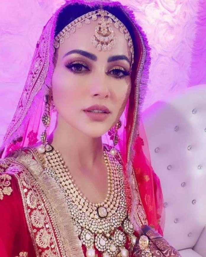 India Tv - Sana Khan's invisible wedding photos