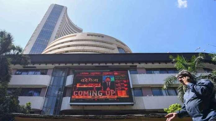 Sensex jumps 282 factors, Nifty ends above 12,850