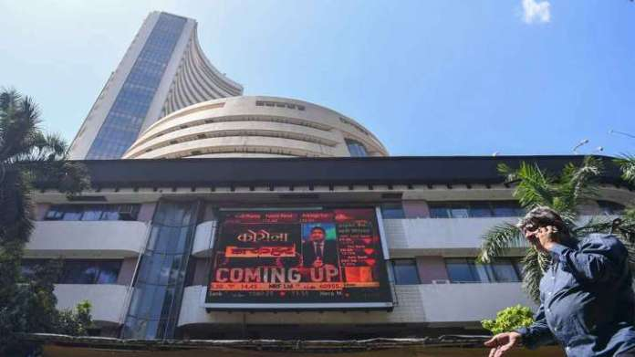 Sensex jumps 282 points, Nifty ends above 12,850