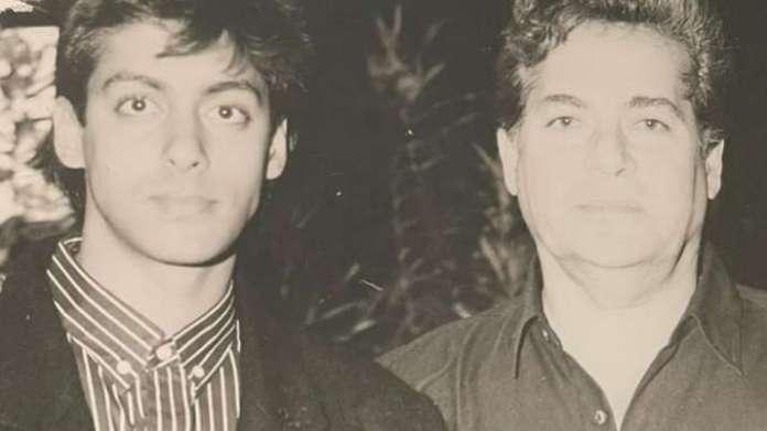 salmansalim 1608647331 बेटे सलमान और अमिताभ बच्चन के साथ सलीम खान की थकाऊ फोटो देखें, बाद में अर्पिता खान को धन्यवाद!