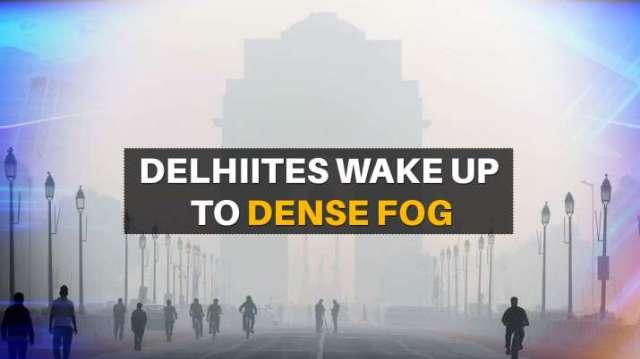 Delhiites wake up to dense fog, minimum temperature hovers around 4.4° Celsius