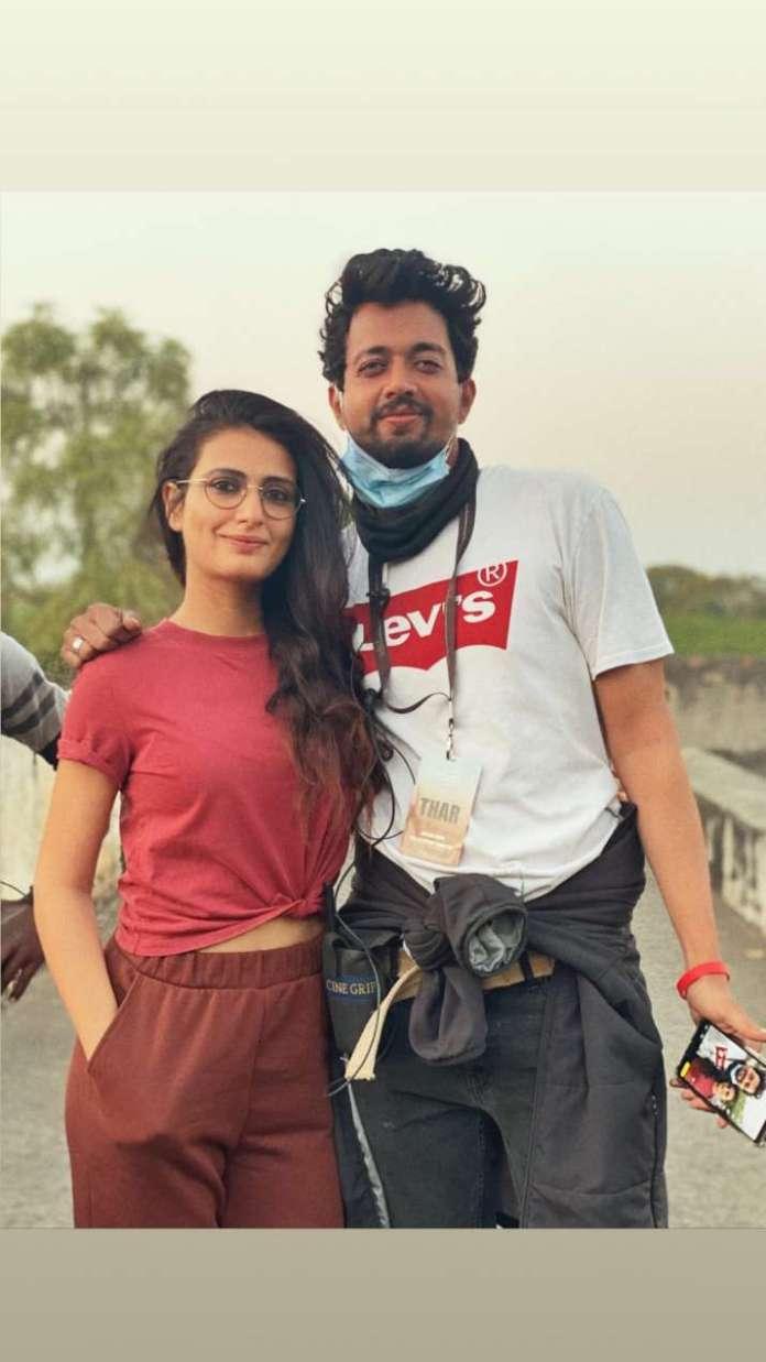 इंडिया टीवी - फातिमा सना शेख ने उदयपुर में अगले कार्यक्रम की शुरुआत की