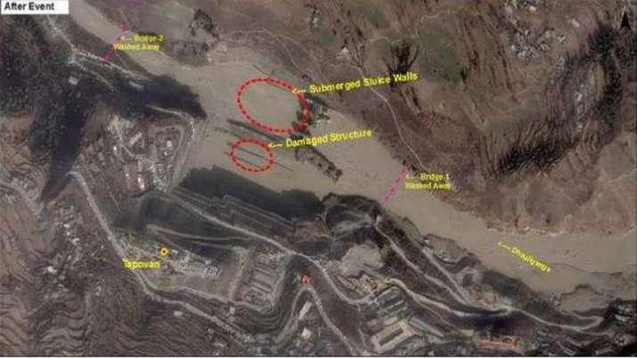 India Tv - uttarakhand glacier burst latest news, uttarakhand news, uttarakhand flash floods, chamoli floods
