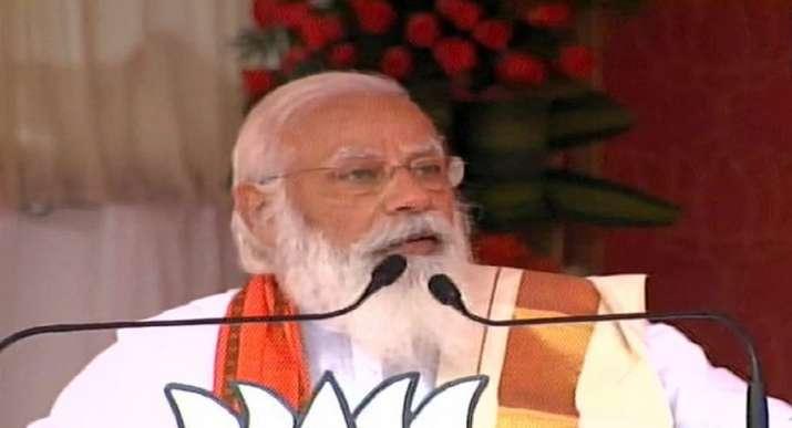pm modi palakkad, modi palakkad, modi palakkad speech, pinarayi vijayan, e sreedharan, kerala latest