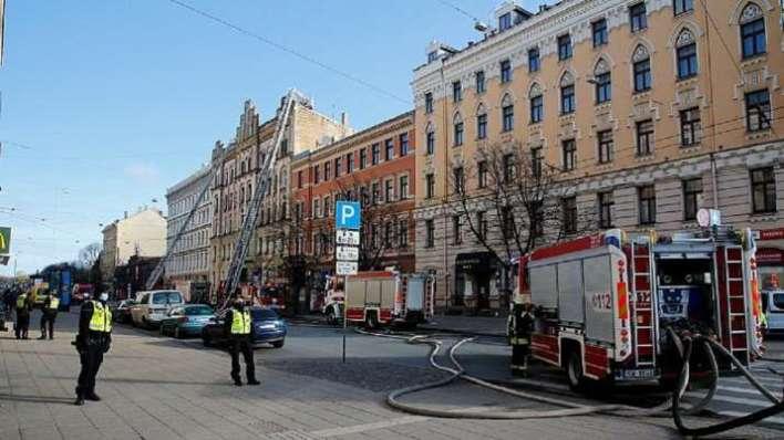 Helsinki, Finland, Eight dead, building blaze, Latvian capital, Riga, latvian authorities, merkela s