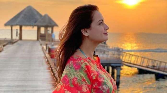 Mom-to-be Dia Mirza shares her 'Work from home' look amid COVID 19 lockdown   PIC   Latest News Live   Find the all top headlines, breaking news for free online April 25, 2021