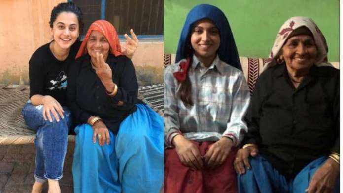 Shooter Dadi Chandro Tomar dies: Bhumi Pednekar, Taapsee Pannu remember her with BTS pics from Saand Ki Aankh | Latest News Live | Find the all top headlines, breaking news for free online April 30, 2021