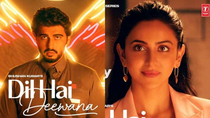 Arjun Kapoor, Rakul Preet Singh announce music video Dil Hai Deewana, reveal first look