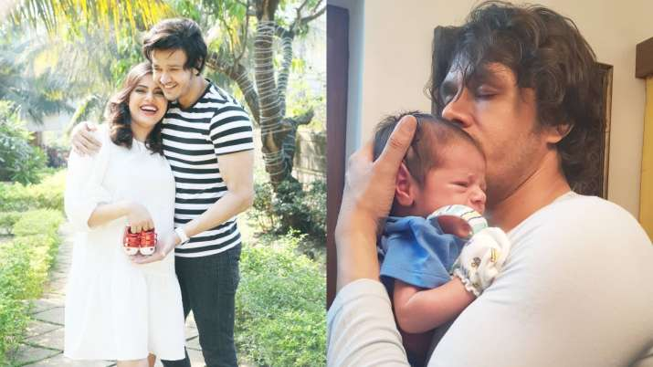 Covid-positive Aniruddh Dave's wife Shubhi Ahuja reveals biggest challenge to leave 2-month son for husband