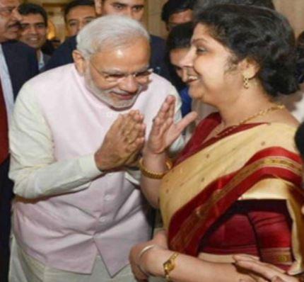 India Tv - Ex-Prasar Bharti CEO shares PM Modi's morphed image