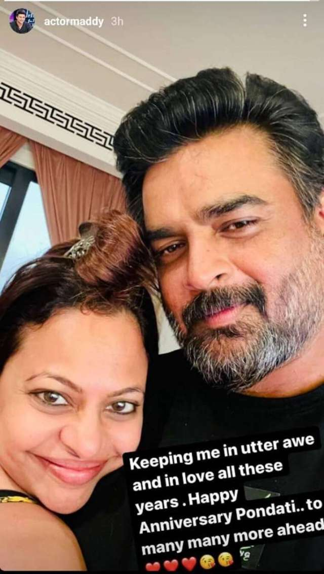 India Tv - R Madhavan, Sarita Birje on 22nd wedding anniversary share adorable pictures with heartfelt notes