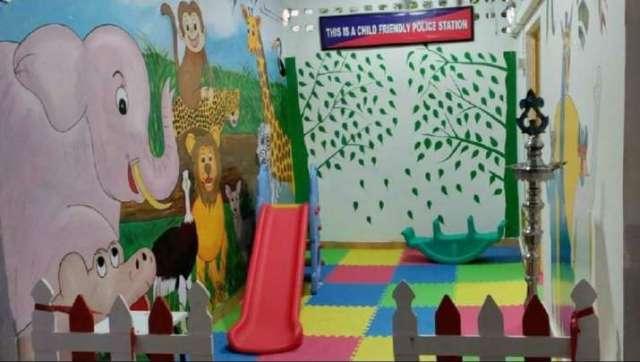 इंडिया टीवी - बच्चों के अनुकूल पुलिस स्टेशन