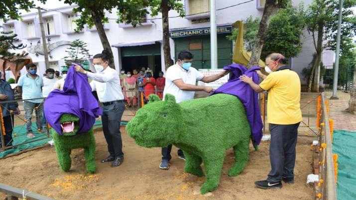 India Tv - ITI Berhampur celebrates International Tiger Day