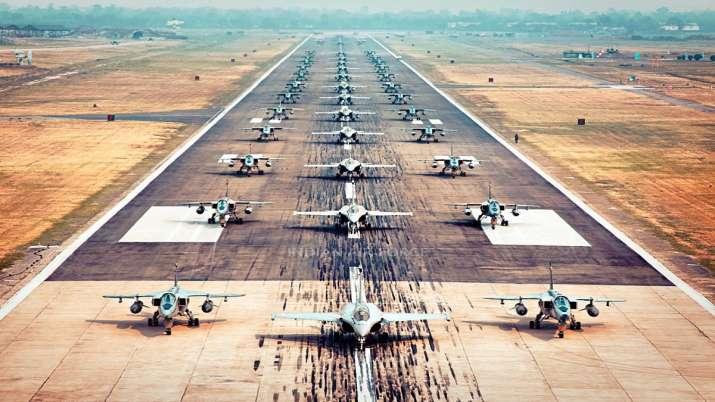 India Tv - IAF, elephant walk