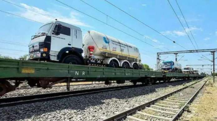 India Tv - Indian Railways' Oxygen Express