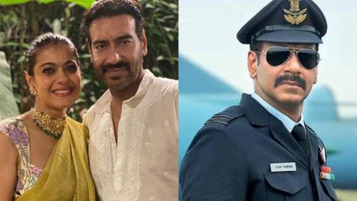 भुज द प्राइड ऑफ इंडिया: अजय देवगन की फिल्म को काजोल ने दिया नारा, कहा 'एक जबरदस्त हाई'