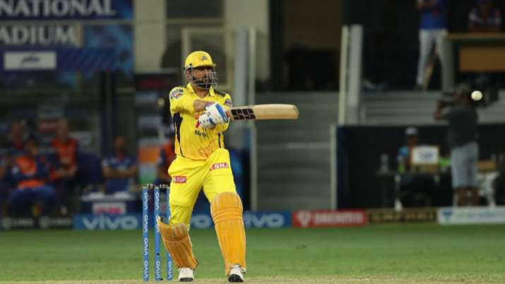 MS Dhoni finishes off in style to secure final berth for CSK in IPL 2021