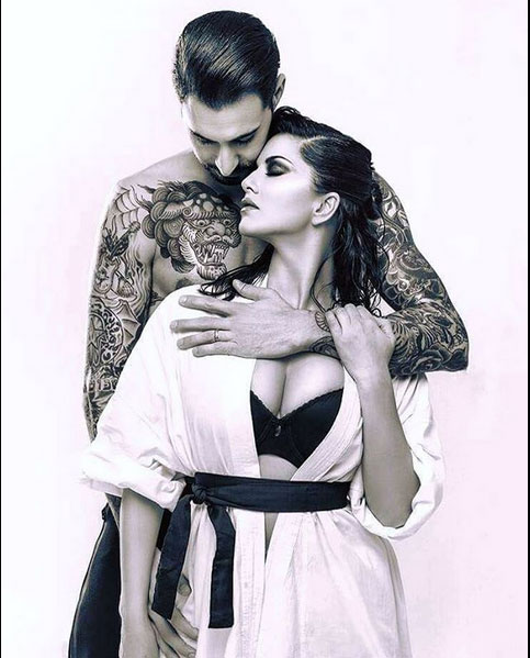 Sunny Leone And Hubby Daniel Weber Turn Up The Heat In Latest Photoshoot See Pics